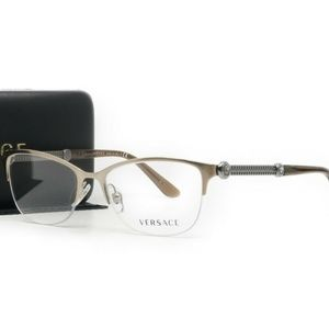 Versace Unisex Brown Copper Glasses MOD 1228 1361
